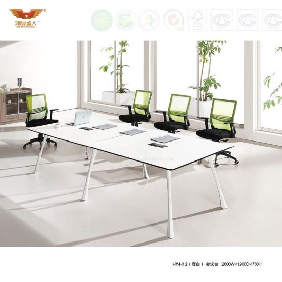 Eye Catching Modern Office Furniture Meeting Room Conference Table (HY-H12)