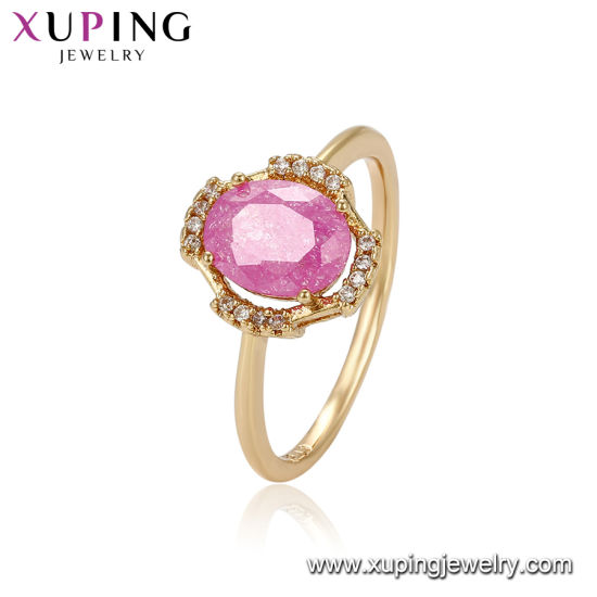 19f504fc55ed58 Newly Luxurious Finger Ring Wedding Rings Bridal Jewelry for Women with 18K  Gold Plated pictures &