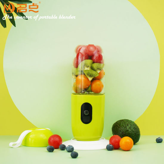 Eco-Friendly Personal USB Rechargeable Electric Small Juicer Cup Portable Blender with Many Colors