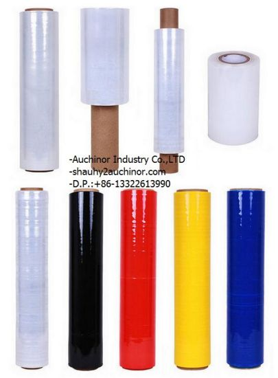 Color Stretch Film for PE Material Used in Packaging or Pallets pictures & photos