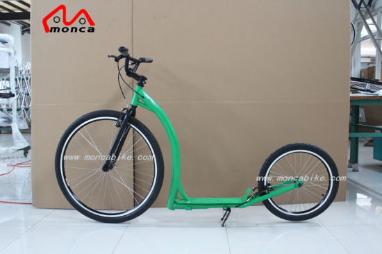 Adult Foot Scooter Kick Scooter Electric Motorcycle City Bike E Bicycle Hi-Ten Steel Frame