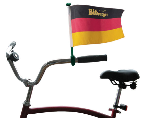 Custom Advertising Bicycle Safety Flag pictures & photos