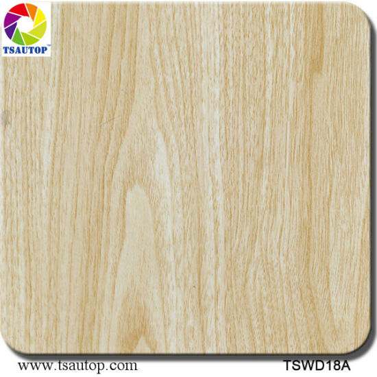 Tsautop 1m Straight Wood Water Transfer Printing Hydrographic Films pictures & photos