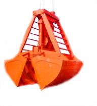 Hydraulic Clamshell Grab Bucket-Electric Motor Hydraulic Grab Bucket