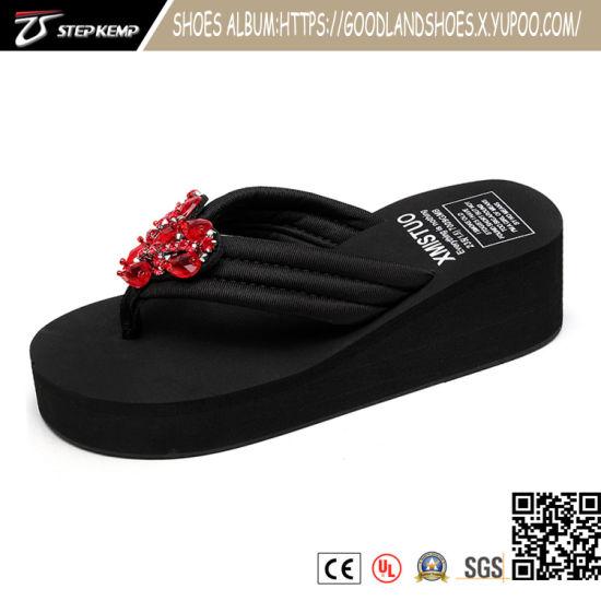 High Quality Summer Sandal for Fashion Women Soft EVA Slide Slipper Flip Flops Lady Slipper 205027