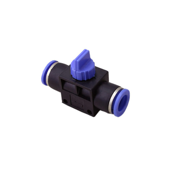 Pneumatic Connector Plastic Pneumatic Fitting Quick Push in Fittings pictures & photos