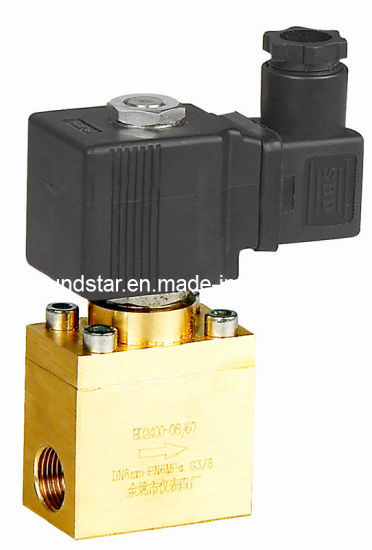 Brass High Pressure Solenoid Valve pictures & photos