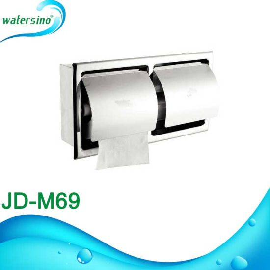 Jd-M72 Round Design Wall Mounted Toilet Paper Holder Roll Box pictures & photos