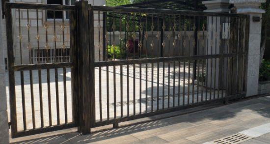 China House Iron Gate Design / Steel Sliding Gate / Aluminum Gate ...