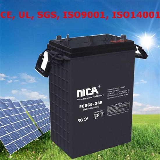 Solar Battery Wind Battery New Energy Battery Solar 6V380ah