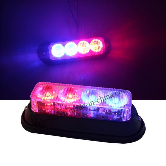 Multi Color Led Police Car Strobe Warning Lights For Car Surface