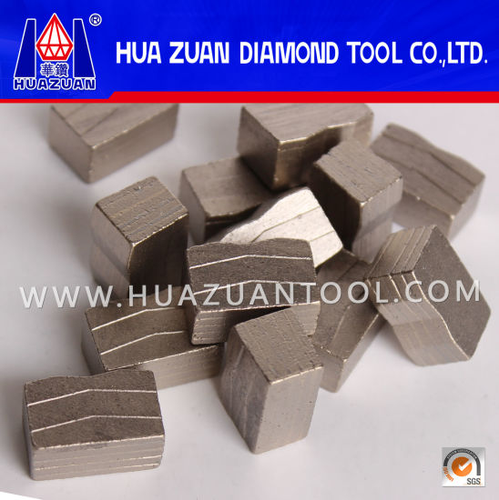 Diamond Segmented Tool of Diamond Segment for Granite Cutting pictures & photos