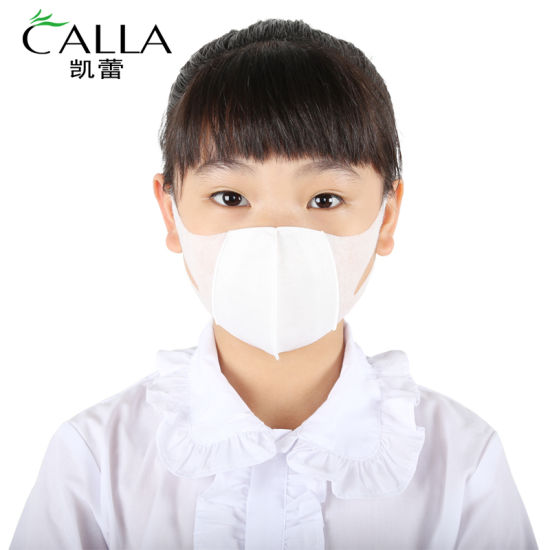 Factory Wholesale 3ply Earloop Disposable 3D Kids Masks Protective Mask