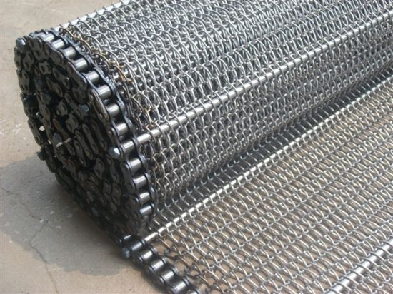 Stainless Steel Conveyor Belt with C2042 Link Chain pictures & photos