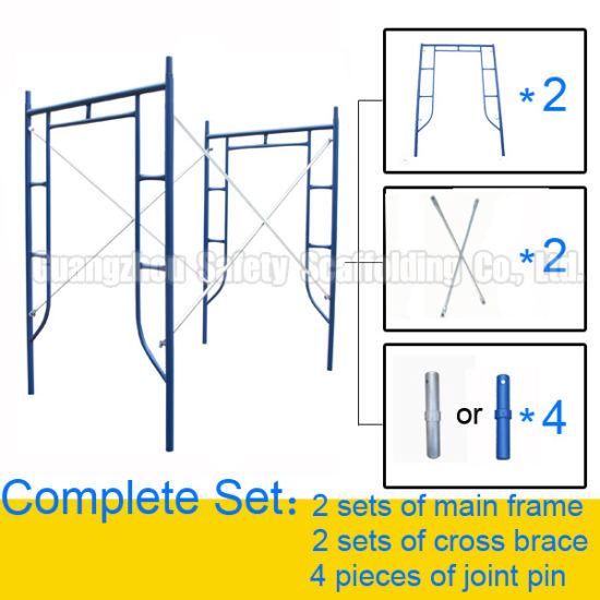 Frame Style Scaffolding (001) , Make in Guangzhou, China