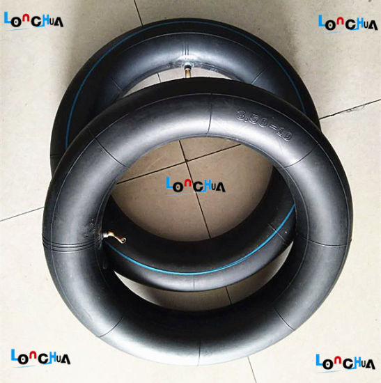 Long Service Life Natural Motorcycle Inner Tube (350-10) pictures & photos