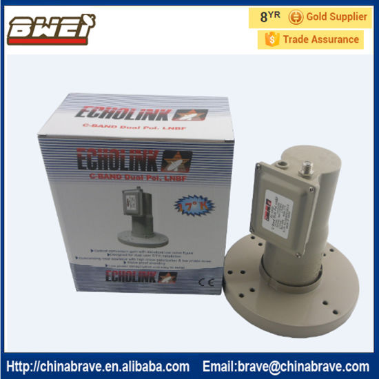High Gain 65dBi C Band LNB Single Output pictures & photos