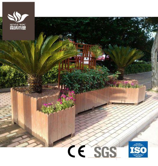 Steady Quality WPC Flower Pot for Garden Planter