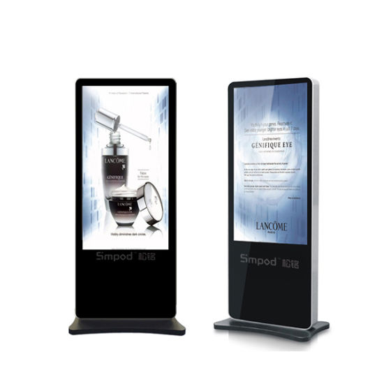 55′′ Floor Standing LCD Advertising Totem Monitor Display pictures & photos