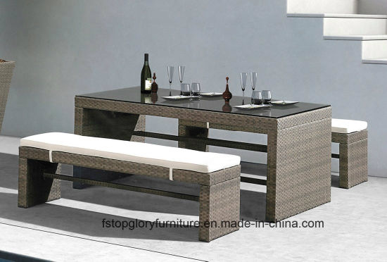 China Outdoor Furniture Sale Rattan Furniture Dining Casual Sets Tg