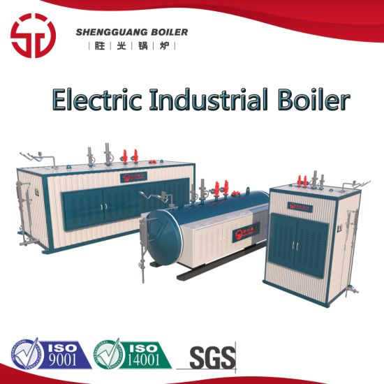 Horizontal Industrial Electric Induction Steam Hot Water Boiler 0.5-4t/H pictures & photos