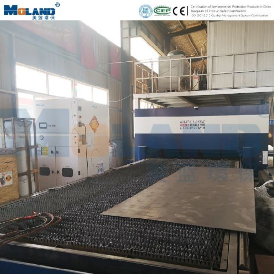 Exhaust Ventilator System for Laser Cutting Fume