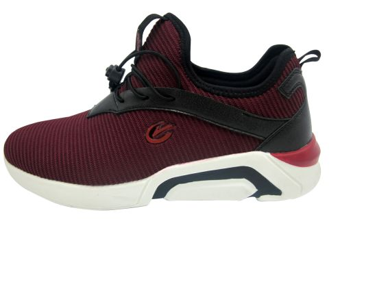 New Fashion Style Male Breathable Casual Flyknit Sport Shoes
