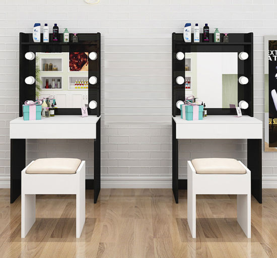Simple Modern Furniture Dressing Table, Dressing Room Mirror With Light Furniture