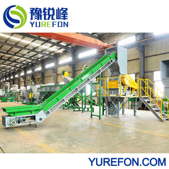 Plastic Film or Woves Bag Crushing Washing Drying Production Line