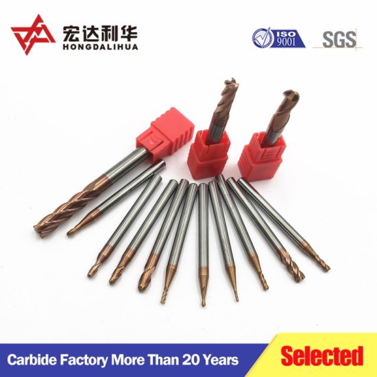 Best Price for Manufacturer All Kinds of Tungsten Carbide Endmill pictures & photos