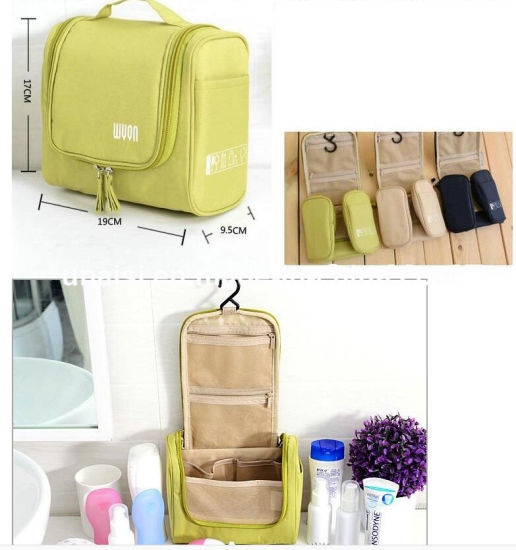 Hang Makeup Toiletries Cosmetics Holder Carrier Oragnzier Carry Travel Bag