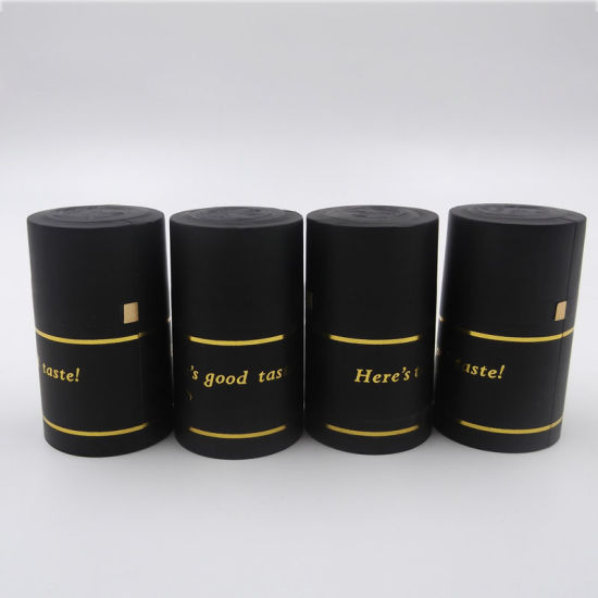 Disposable Wine PVC Shrinkable Sleeves with Tear Strip