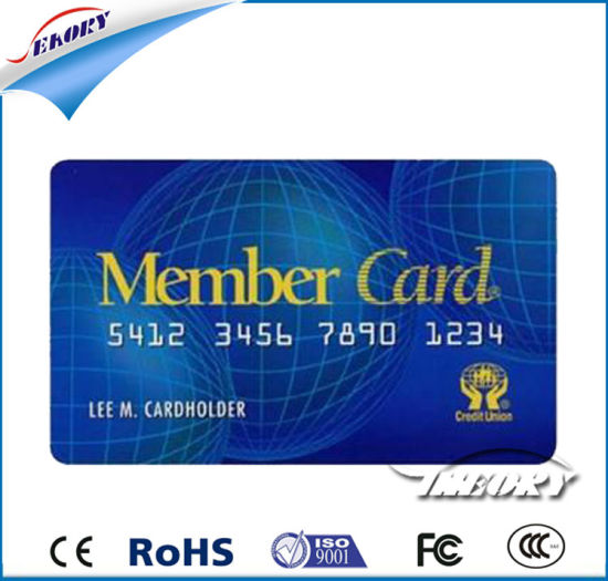 Free Sample Hf 13.56MHz ISO14443 RFID Card / Smart Card NFC Tag pictures & photos