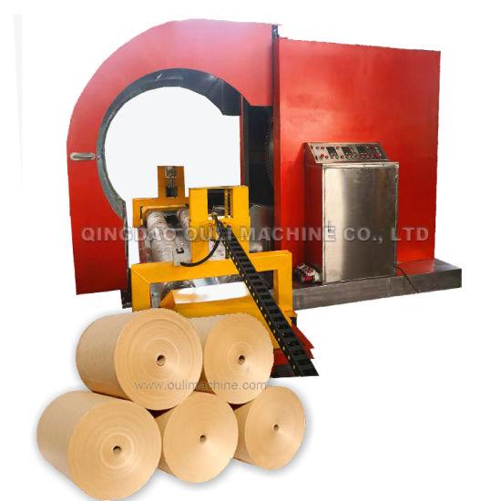 Kraft Saw Blade Paper Rolls Cutting Machine, Toilet Paper Rolls Slitting Machine Made in China