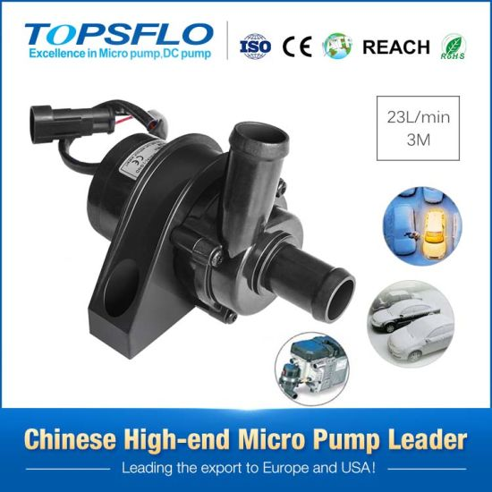 Topsflo Professional 12V or 24V Pump for Auto and Car Cooling