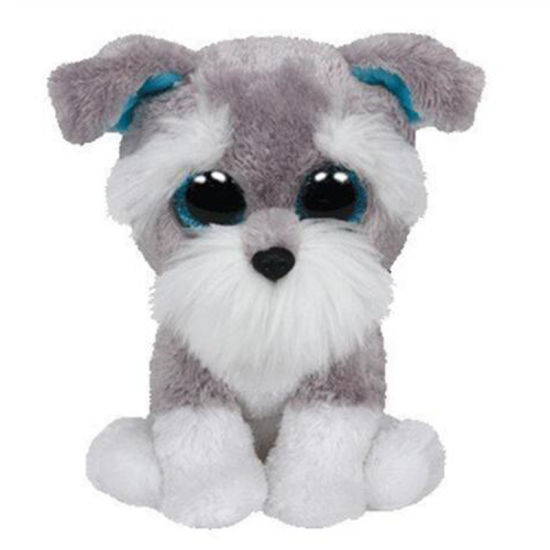Beanie Babies Stuffed & Plush Whiskers The Schnauzer Dog Toy 15cm9 Orders