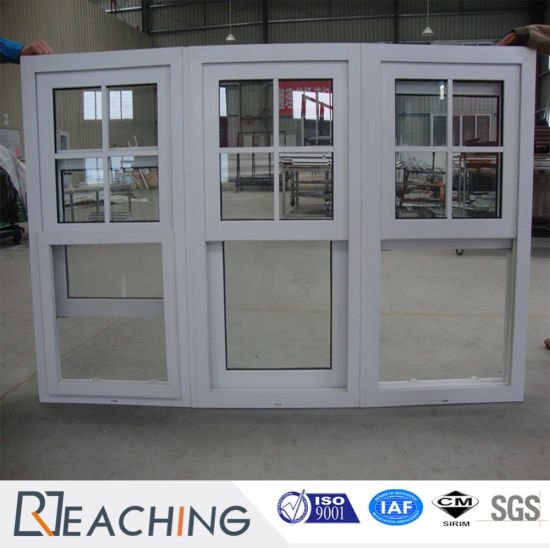 China Upvc Plastic With Steel Reinforce Sliding Window With Fixed
