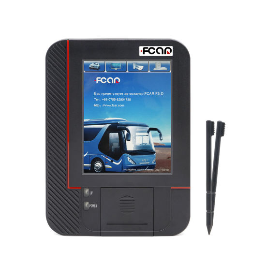 Fcar F3-D 24V Truck Construction Machinery Diesel Diagnostic Tool for Russian Full Set for Engine ABS Fault Code Reader