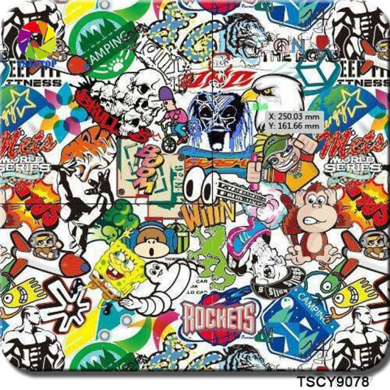 Tsautop 1/0 5m Width Cartoon Anime Hydro Dipping Patterns for Water Transfer