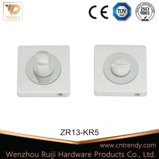 Silver Bathroom Fittings Wc Privacy &Door Knob (ZR13-KR5)