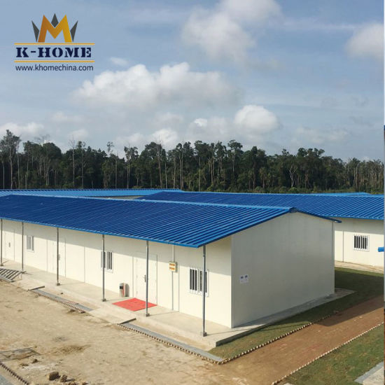 Light Steel Structure Prefabricated Labor Camp House