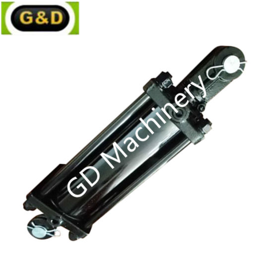 Farm Use Reciprocating Tie Rod Hydraulic Cylinder with Short Stroke for Tipper Truck