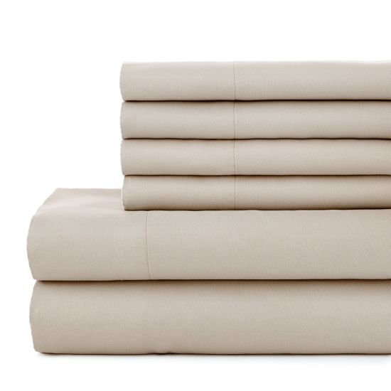 1000tc, 1200tc, 1500tc Soft Like Egyptian Cotton Microfiber Bed Sheet pictures & photos