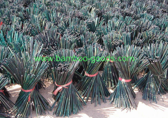 Long and Natural Color Bamboo Flower Sticks pictures & photos