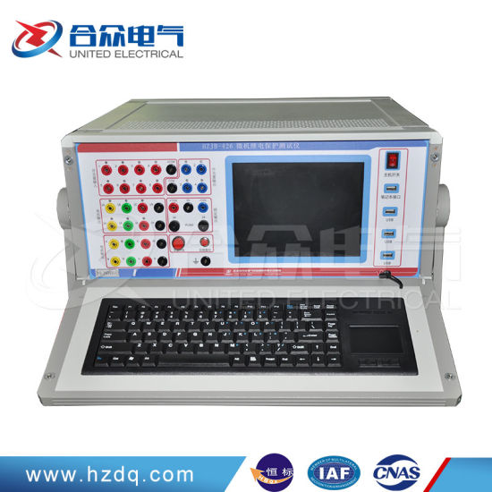 China Relay Test Kit Six Phase Relay Protection Testing Instrument