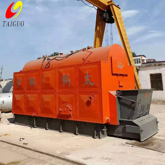 Dzl 6ton Coal or Wood Fired Water Tube Boiler for Printing