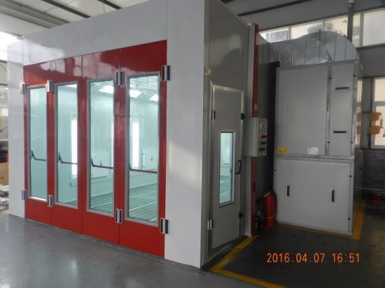 China Supplier Used Car Spray Booth with Electric Heating System