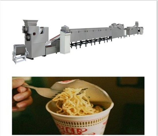 Full Automatic Fried Chinese Instant Noodles Making Machine Product