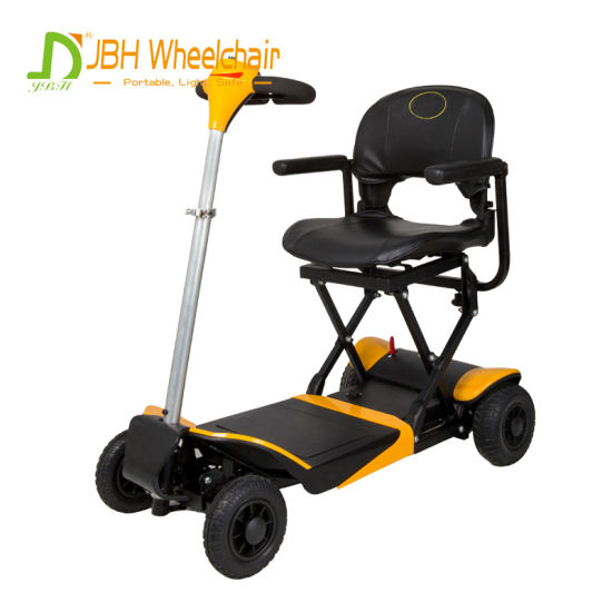 One Key Automatic Folding Electric Mobility Scooter Lightweight for Disabled