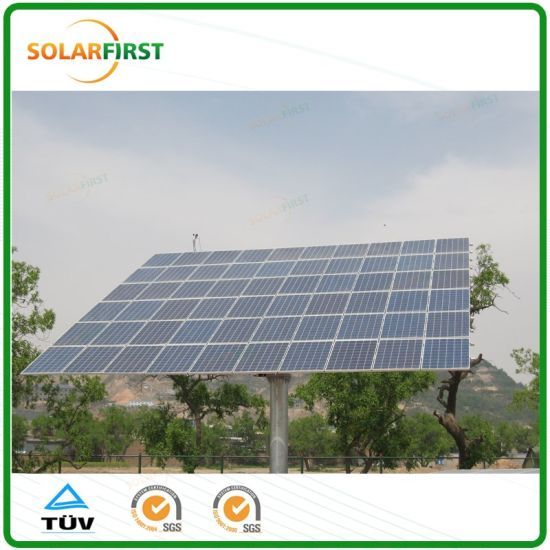 60 Solar Panel 16kw Dual Axis Tracker pictures & photos